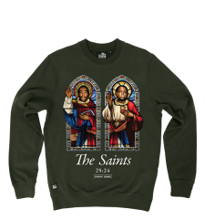 The Saints Sweat - Khaki