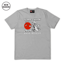 Team Chunk Tee - Sports Grey