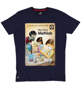 My First Methlab Tee - Navy