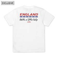 With a little help Tee - White