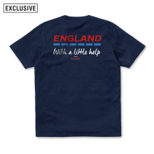 With a little help Tee - Navy