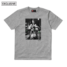 Out On The Town Tee - Grey Marl