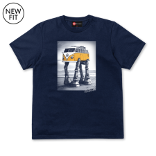 Walking Camper Tee - Navy