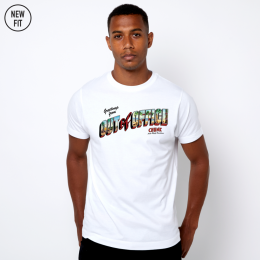 Out of Office Tee - White