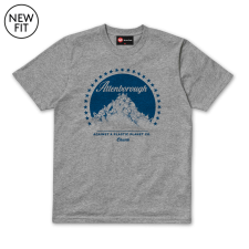 Attenborough Tee - Grey Marl
