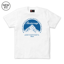 Attenborough Tee - White