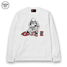 Out Of The Box L/S Tee - White