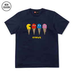8-Bit Ice cream Tee - Navy