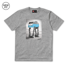 Walking Camper Tee - Grey Marl