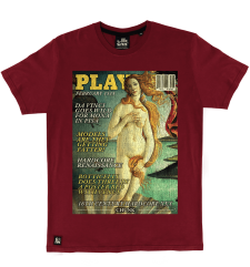 Venus Cover Tee - Wine