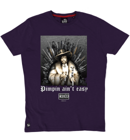Pimpin Ain't Easy Tee - Purple