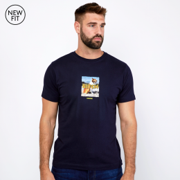 Bitch Tee - Navy