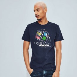 Big Bills Windows Tee - Navy
