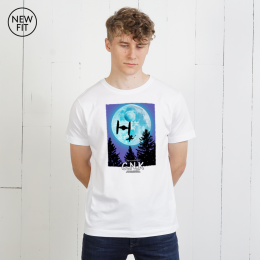 Fly Home Tee - White