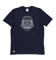 Trooper Wire Frame Tee - Navy