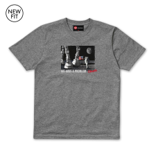 Houston Tee - Grey Marl