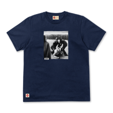 Arrested Tee - Navy