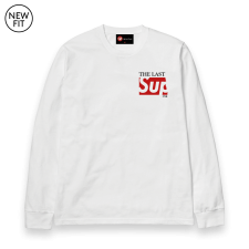 The Last Sup L/S Tee - White