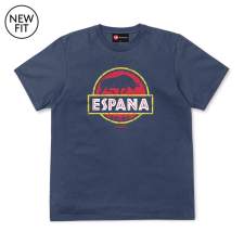 Espana Tee - Denim Blue