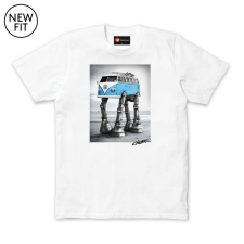Walking Camper Tee - White
