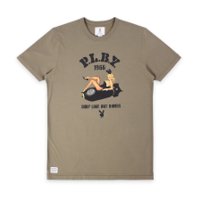 Drop Love Not Bombs Tee - Light Khaki