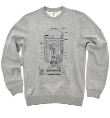 R2D2 Blueprint Sweat - Grey