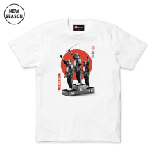 Samurai Panthers Tee - White