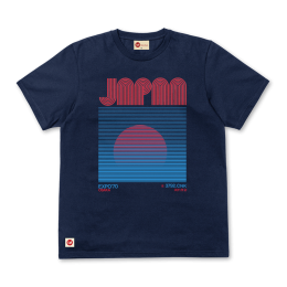 Japanese Sunrise Tee - Navy