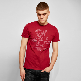 April the Force Tee - Red