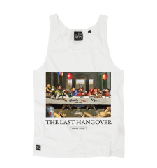 The Last Hangover Vest - White