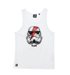 Rebel Rebel Vest - White