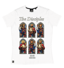 The Disciples Tee - White