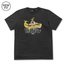 Yellow Whale Tee - Black