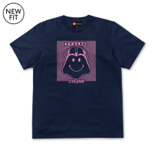 Spaced Tee - Navy