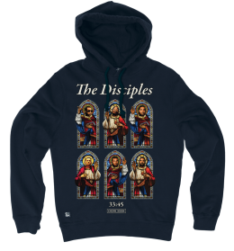 The Disciples Pullover Hoody - Navy