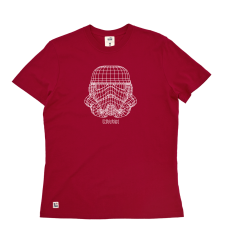 Trooper Wire Frame Tee - Red