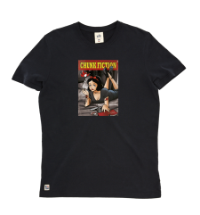 Chunk Fiction Tee - Black