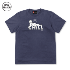 Chill Tee - Light Navy