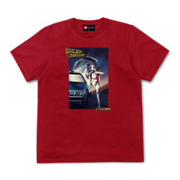 Back to the Darkside Tee - Stereo Red