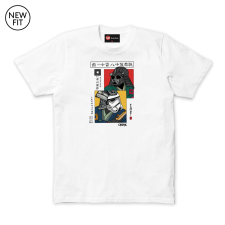 Japanese Dual Poster Tee - White