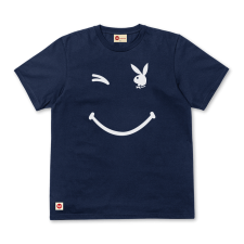 Playboy Wink Tee - Navy