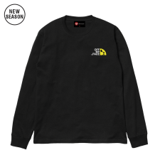 Off My Face L/S Tee - Black