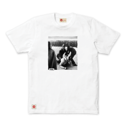 Arrested Tee - White