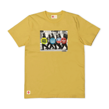 Walking Riot Tee - Winter Yellow