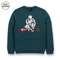 Out Of The Box Sweat - Petrol Blue