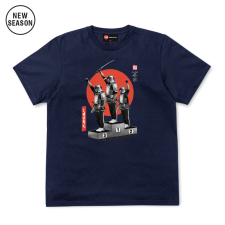 Samurai Panthers Tee - Navy