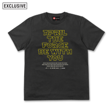 April the Force Tee - Black