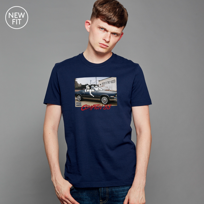 Droids 'n the hood Tee - Navy