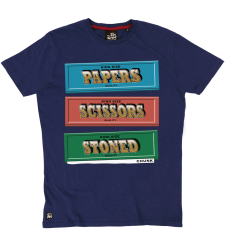 Papers, Scissors, Stoned Tee - Ink