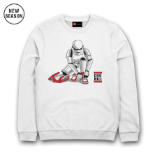 Out Of The Box Sweat - White